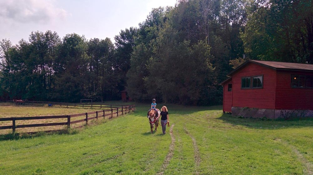 Horseback Riding Barn and Paddock