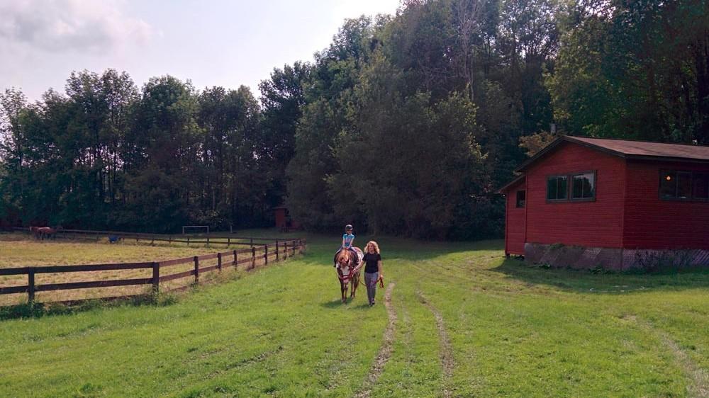 Horseback Riding Barn and Paddock