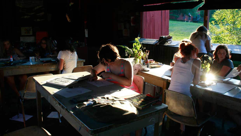 Camp Art Studio