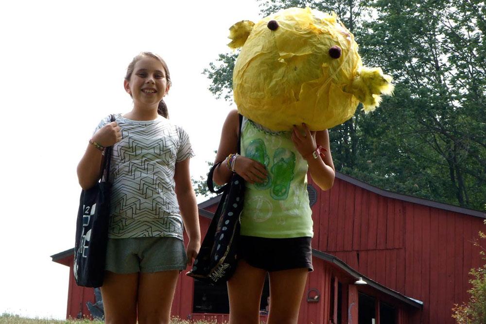fun at arts camp