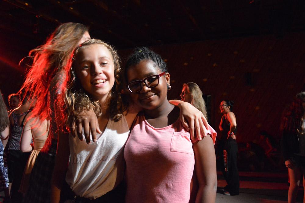 Dance Summer Camp friends