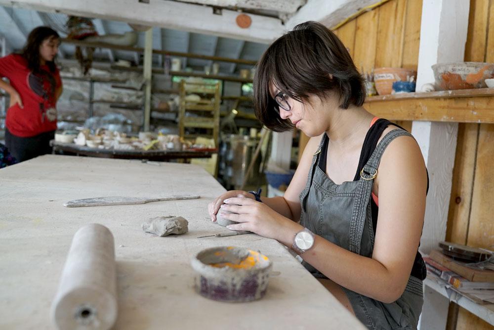 pottery sleepaway camp