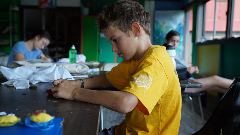 art camp for boys