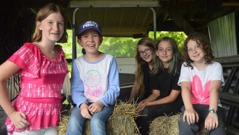 arts camp happy campers