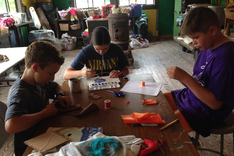 arts camp activities