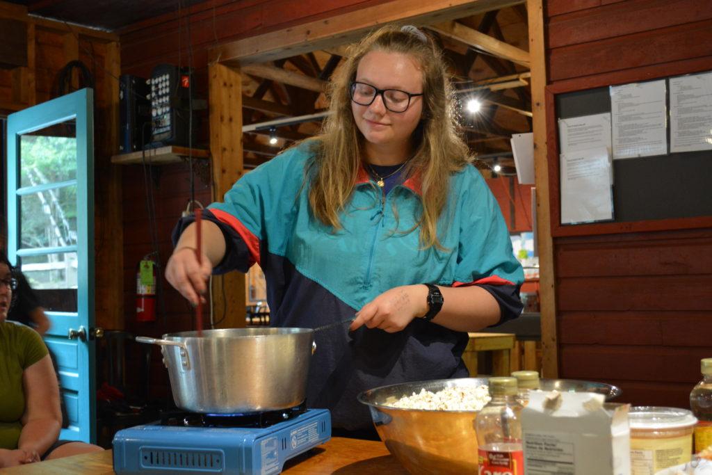 art camp cooking