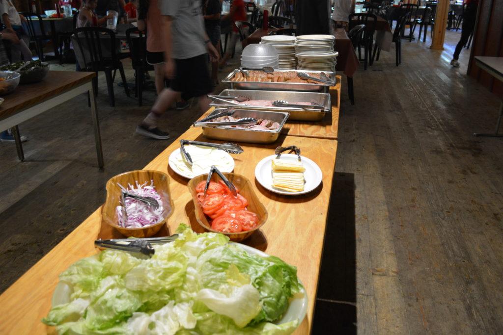 food at art camp