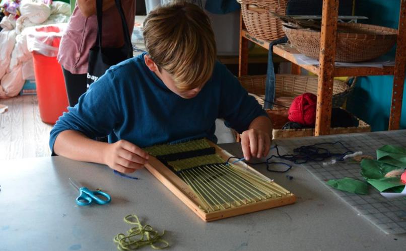 art summer camp crafts