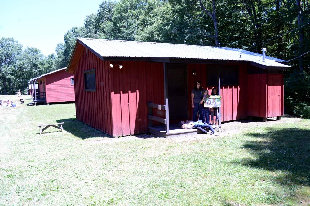 Arts Camp Cabin