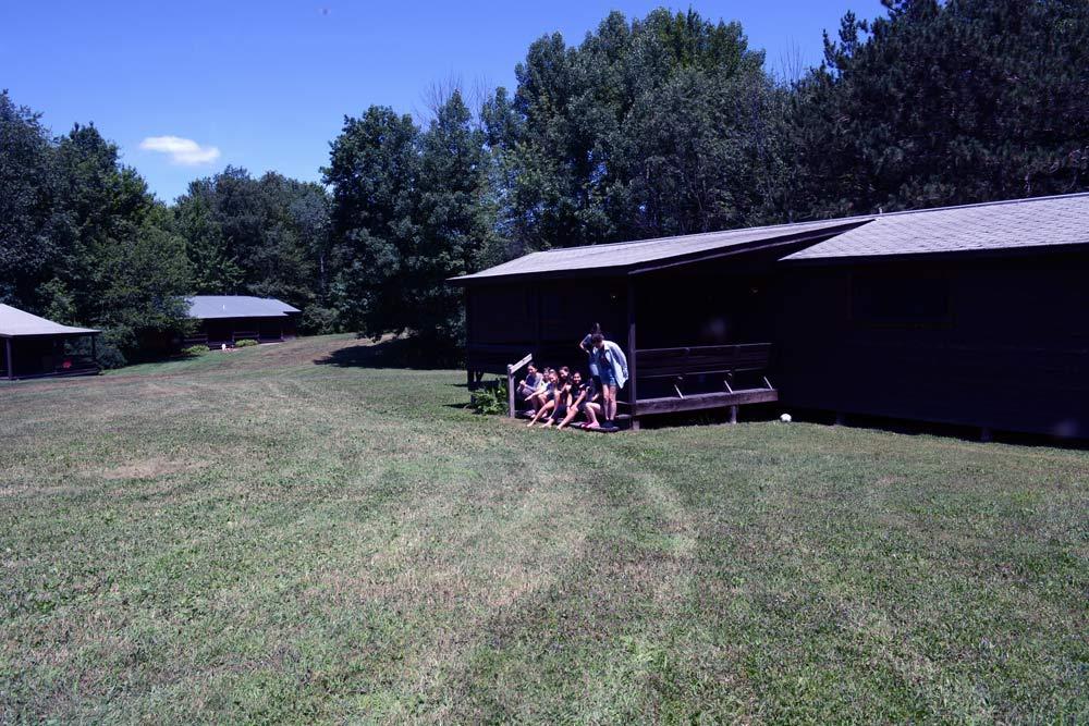 Cabin info at Ballibay arts camp