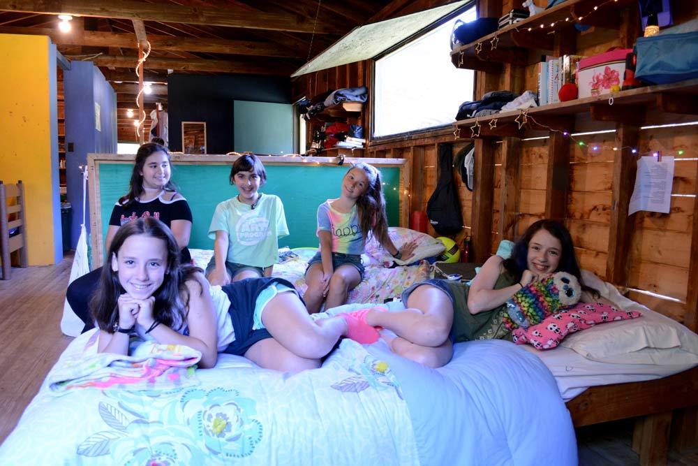 Cabin Life at Camp Ballibay Arts Camp