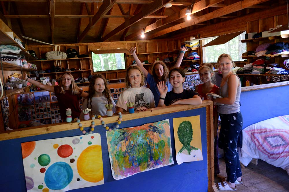 Arts and Activuity in the Camp Cabin